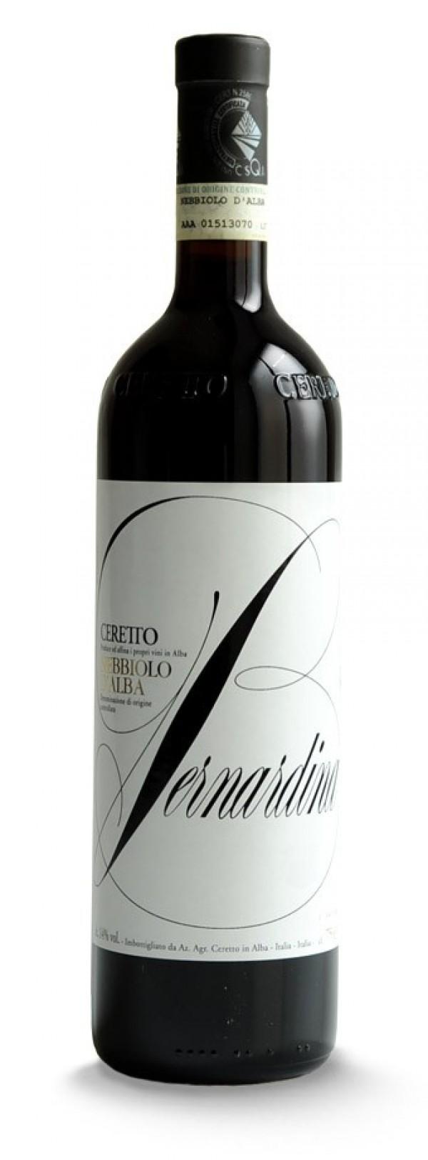Ceretto Nebbiolo D Alba Bernadina 2011 The Wine Front