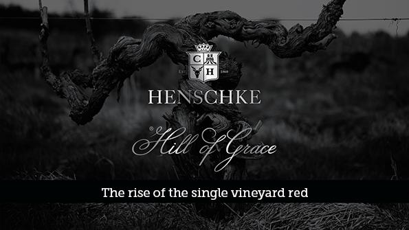henschke hill of grace shiraz graphic