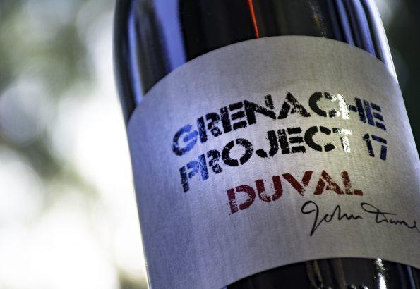 grenache project duval single bottle
